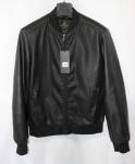 Мужская куртка кожзам 8912A-1
