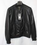 Мужская куртка кожзам K-15-1
