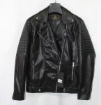 Мужская куртка кожзам 9803-1