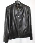 Мужская куртка кожзам 9813-1