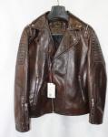 Мужская куртка кожзам 2003D-1
