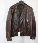 Мужская куртка кожзам 2002D-1