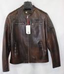 Мужская куртка кожзам 2001D-1