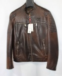 Мужская куртка кожзам 2005D-1