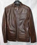 Мужская куртка кожзам 1826-2