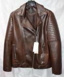 Мужская куртка кожзам 1827-2