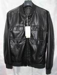 Мужская куртка кожзам A902