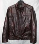 Мужская куртка кожзам 1815-1-2
