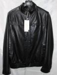 Мужская куртка кожзам 8822-2А-1