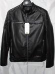 Мужская куртка кожзам 1822-1