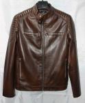 Мужская куртка кожзам 1822-2