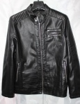 Мужская куртка кожзам 1826-1
