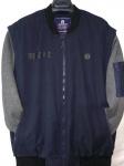 Мужские демисезонные куртки трансформер Батал 7657-1