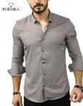 Мужские рубашки длинный рукав 07-17-803