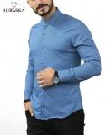 Мужские рубашки длинный рукав 25-17-804