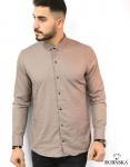 Мужские рубашки длинный рукав 07-17-804