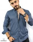 Мужские рубашки длинный рукав 35-17-801