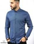 Мужские рубашки длинный рукав 35-17-800