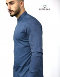 Мужские рубашки длинный рукав 35-17-805