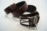 Мужской кожаный ремень-двухсторонний Alon 35 мм