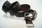 Мужской кожаный ремень-двухторонний Alon 35 мм