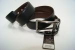 Мужской кожаны ремень-двухторонний Аlon 40 мм