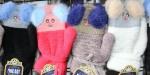 Детские варежки-перчатки 8-10 лет Е24