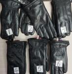 Мужские перчатки кожа 55