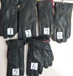 Мужские перчатки кожа/олень 882
