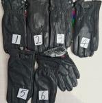Мужские перчатки кожа/олень 881