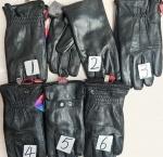 Мужские перчатки кожа/сенсоры 117