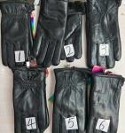 Мужские перчатки кожа 58