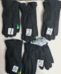 Мужские перчатки - кашемир/искусств. кролик 829