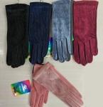 Женские перчатки-трикотаж/сенсорные 1807