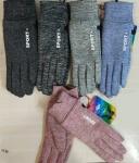 Женские перчатки-трикотаж/сенсорные 171