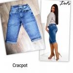 Джинсовые женские шорты Батал