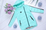 Детские демисезонные куртки р.122-152 45413-3