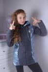 Детские демисезонные куртки р.134-164 45403-4