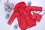 Детские демисезонные куртки р.98-128 45418-1