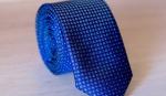 Узкий галстук жаккард U-01