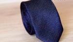 Узкий галстук жаккард U-101-1