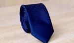 Узкий галстук жаккард U-133