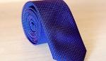 Узкий галстук жаккард U-14