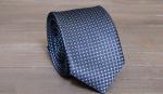 Узкий галстук жаккард U-163