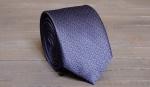 Узкий галстук жаккард U-184