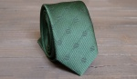 Узкий галстук жаккард U-186