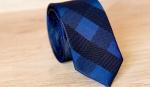 Узкий галстук жаккард U-199