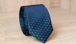 Узкий галстук жаккард U-211