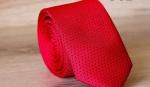 Узкий галстук жаккард U-62