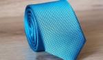 Узкий галстук жаккард U-65